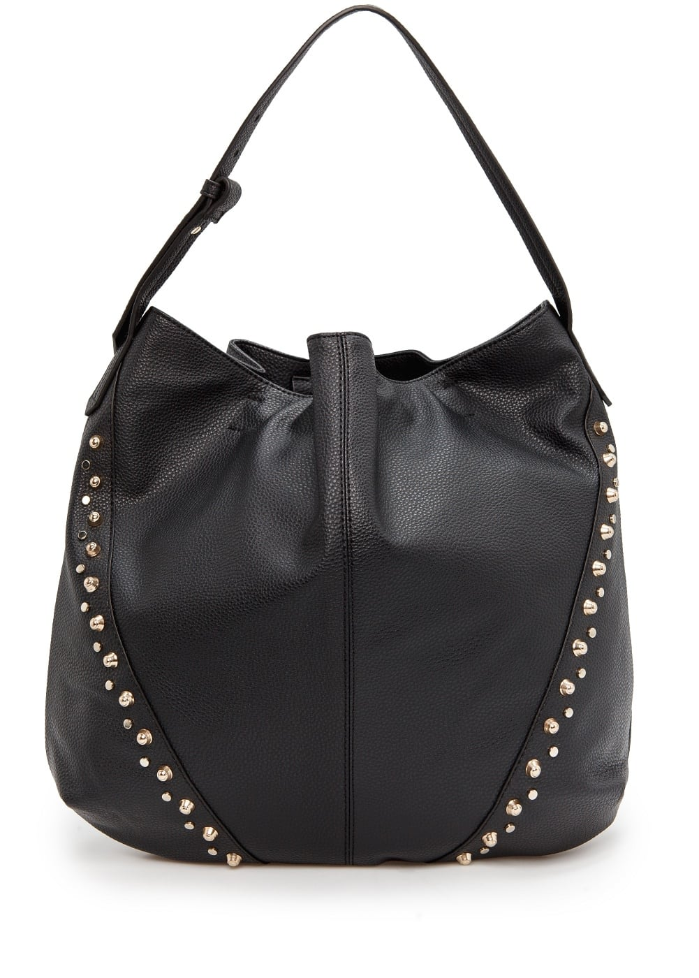 Stud hobo bag