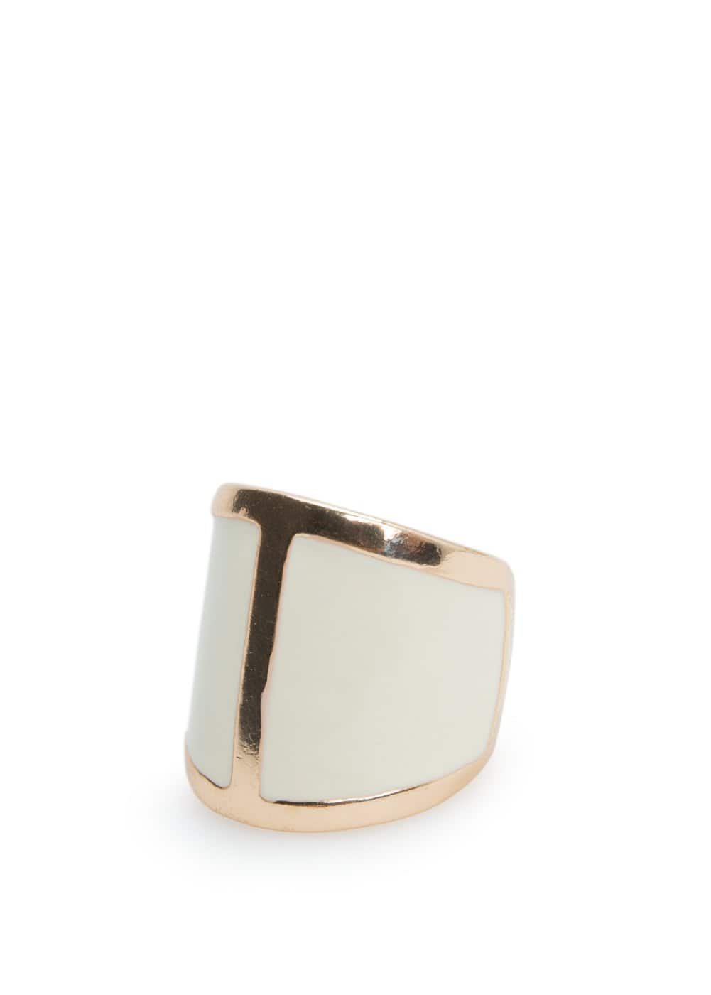 Bicolor ring
