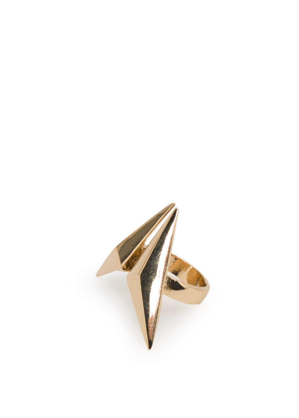 Pyramid ring | MANGO
