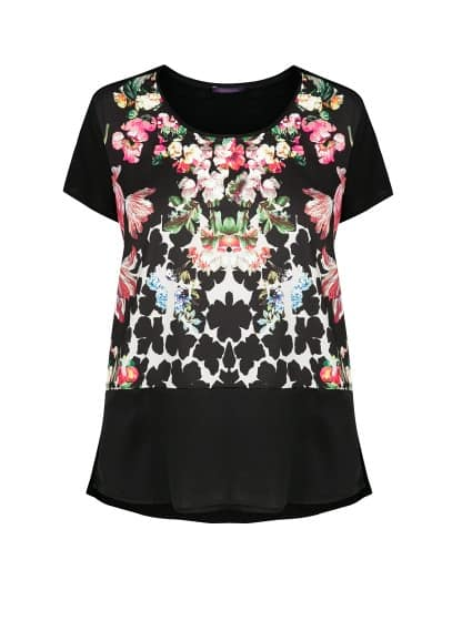 T-shirt estampado floral