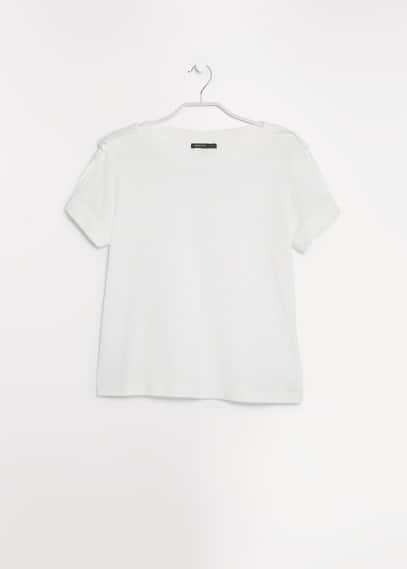 Tab cotton t-shirt