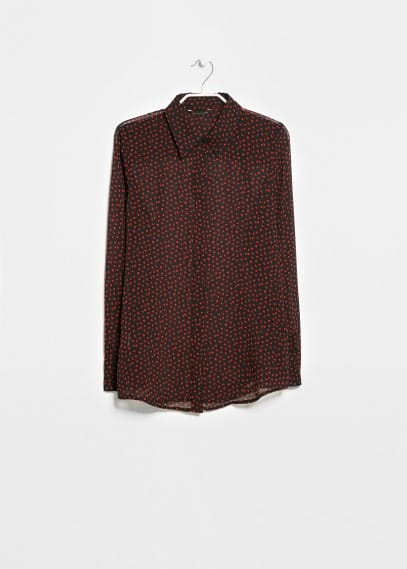 Printed lightweight shirt