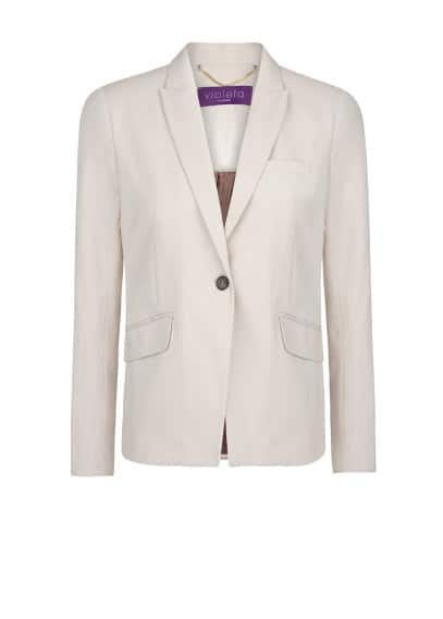 Cotton suit blazer