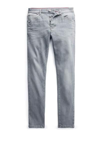 Jeans Tim slim-fit cinzentos