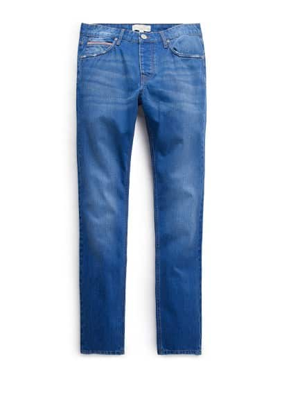 Jeans Steve Premium slim-fit color tinta