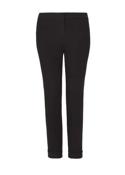 Rolled-up hem trousers