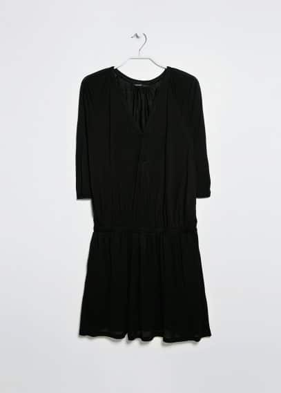 Loose-fit jersey dress