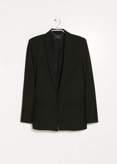 Essential straight-cut blazer