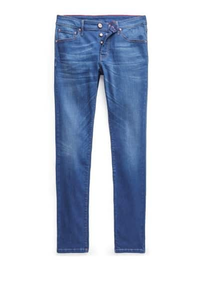 Jeans Tim slim-fit color inchiostro