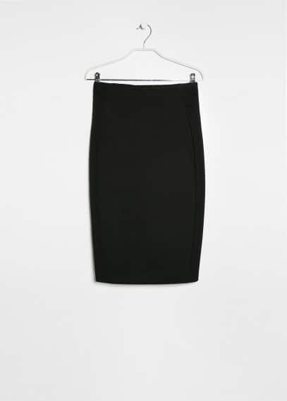 Neoprene-effect skirt
