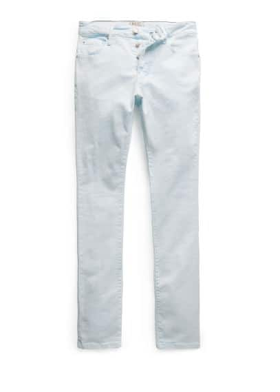 Slim-fit bleach wash Tim jeans