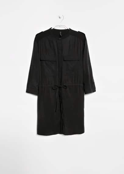 Robe chemisier Tencel