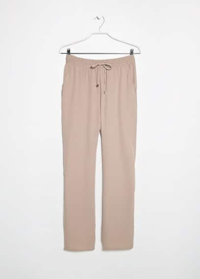 Flowy baggy trousers