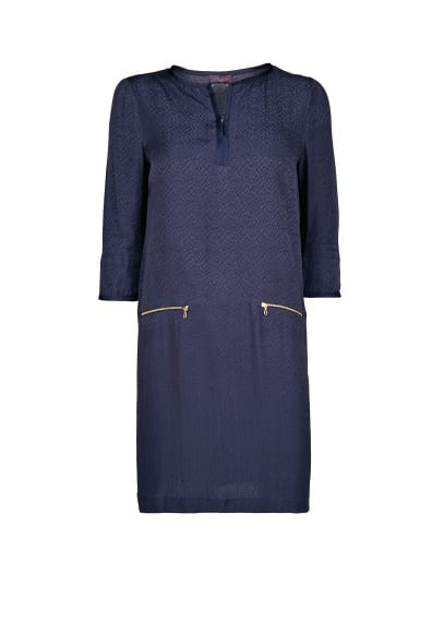 Jacquard shift dress