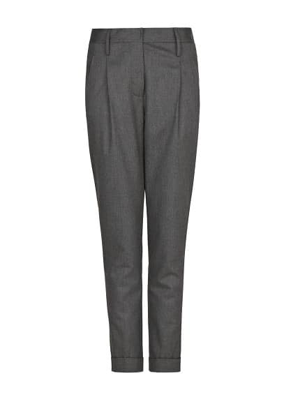 PREMIUM - Merino wool-blend trousers