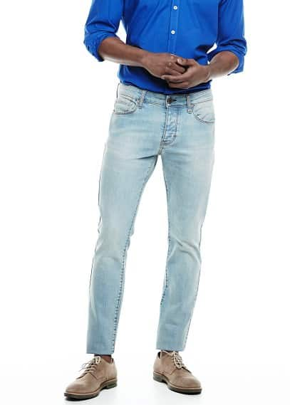 Jeans Tim slim-fit lavado vintage