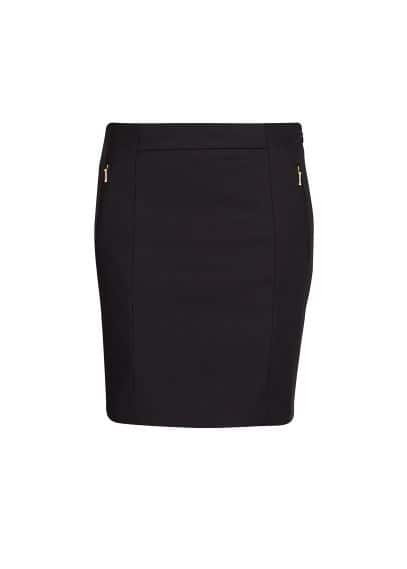 Two-pocket skirt