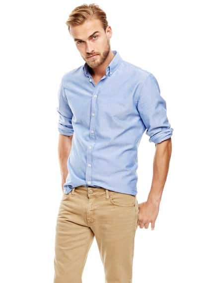 Camicia slim-fit oxford