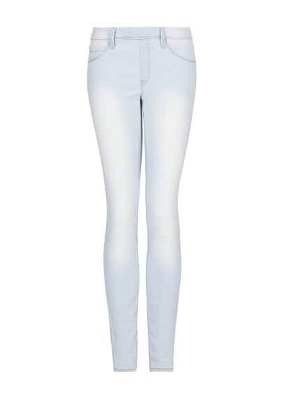 Jeggings lavado bleached