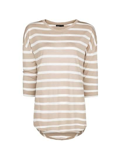 Striped flowy t-shirt