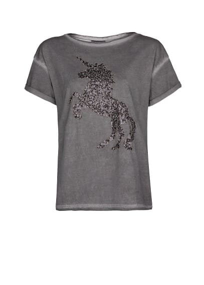Sequin animal t-shirt