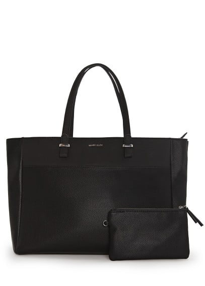 Shopper-Tasche in Lederoptik