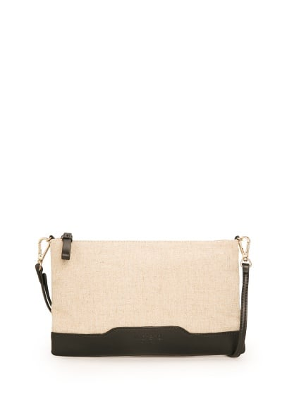 Gecombineerde canvas clutch