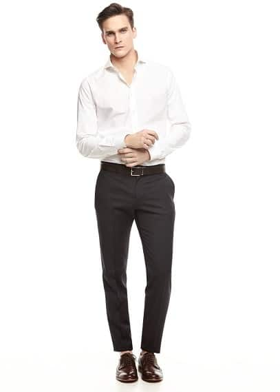 Slim-fit pantalon