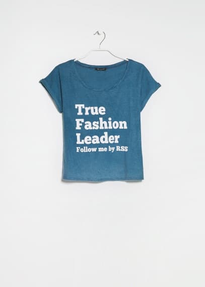 Camiseta Fashion Leader