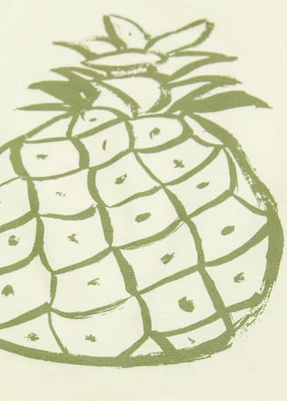T-shirt imprimé fruits
