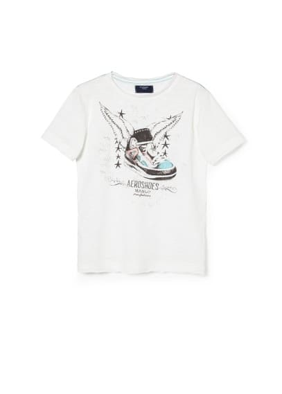 T-shirt Aero shoes