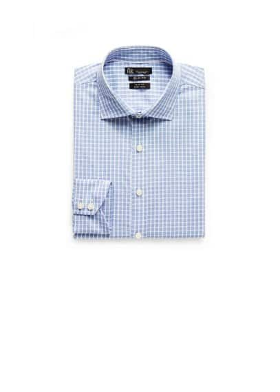 Slim-fit Premium check shirt