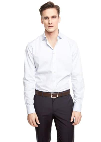 Slim-fit Premium striped shirt
