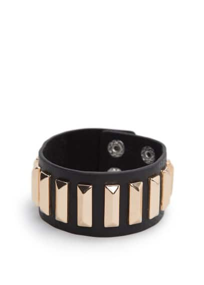 Rectangular stud cuff