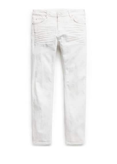 Jeans Alex slim-fit blancos