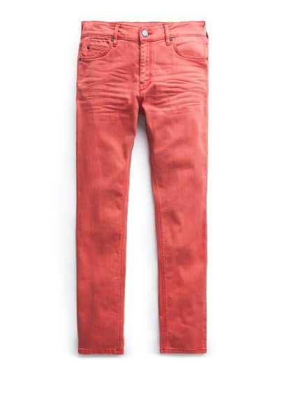 Jeans Alex slim-fit rojos