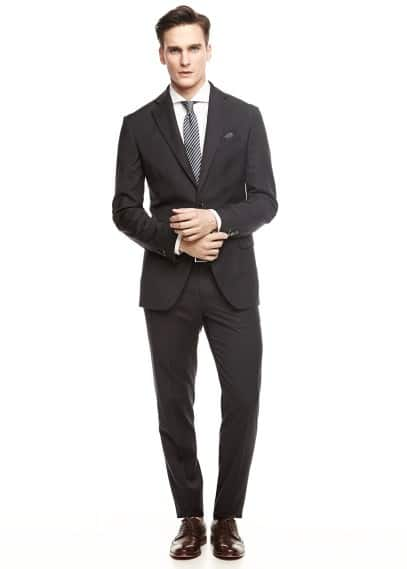 Slim-fit colbert