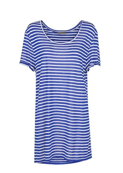Striped long t-shirt