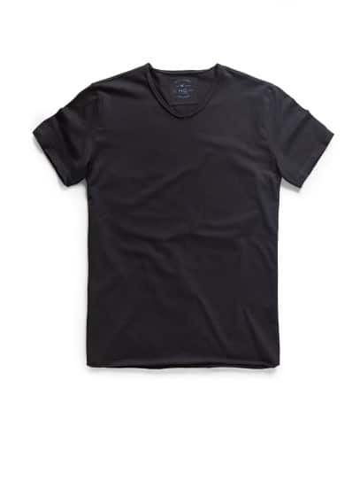 Raw-edge t-shirt