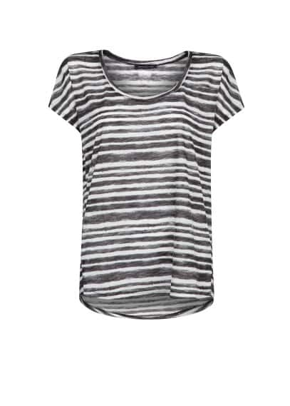 Watercolor striped t-shirt