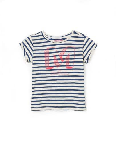 M striped t-shirt