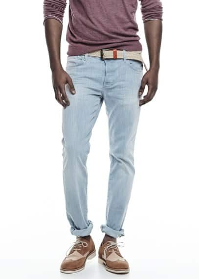 Jeans Tim slim-fit claros