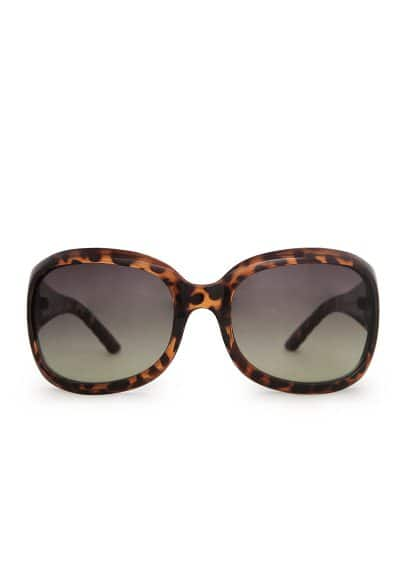 Wide arm retro sunglasses