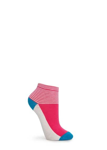 Multicolor ankle socks