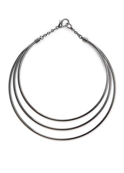 Metal triple choker