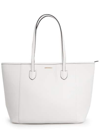 Shopper in Saffiano-Optik