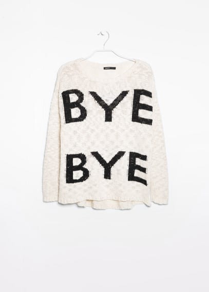 Bye Bye sweater