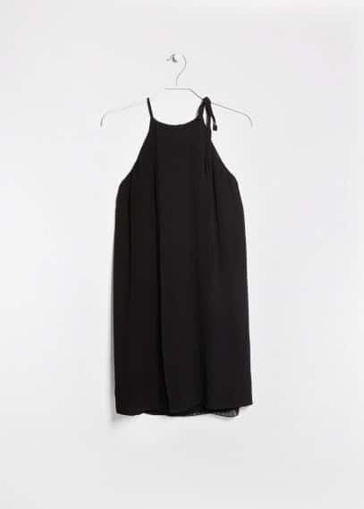 Pleated layer dress