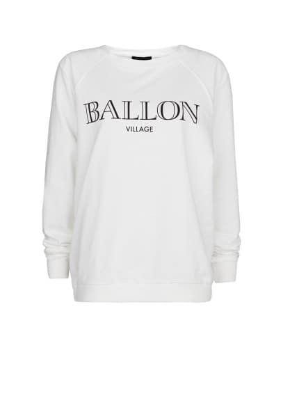 Sweat-shirt coton Ballon