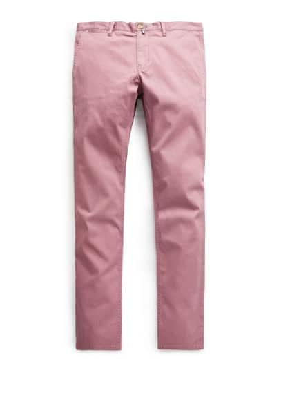 Strukturierte Slim Fit Chinos